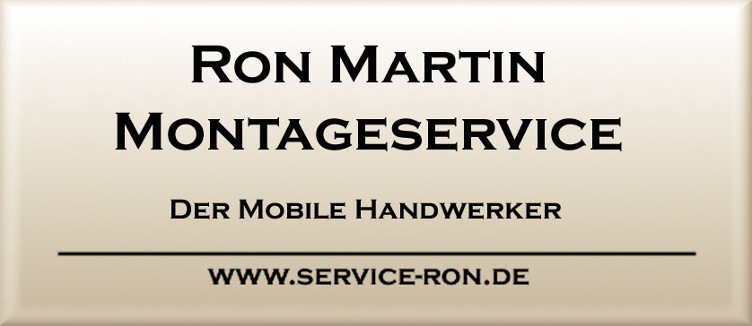 Ron Martin Montageservice
